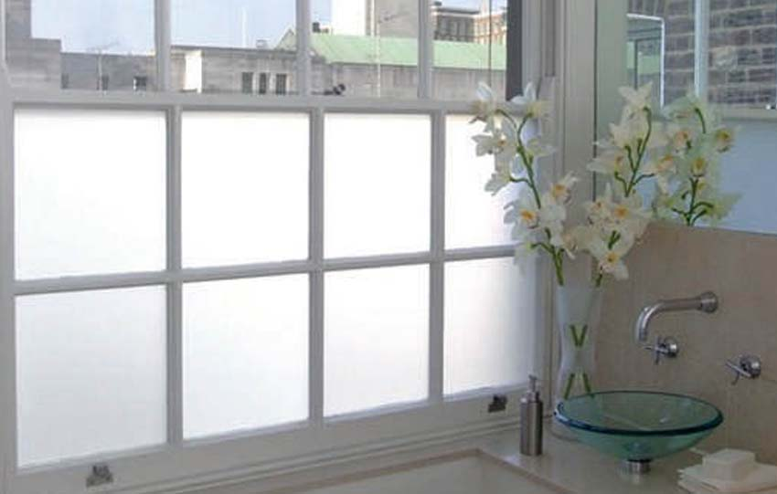 Gravity Window Films White frosted